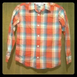 """The Classic Shirt"" plaid for boys by Old Navy"